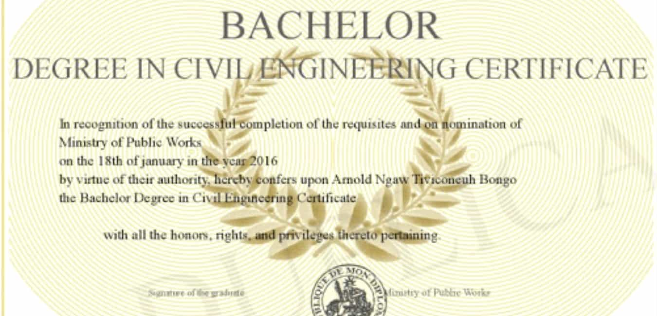 Degrees Of Bakers college - Bachelor of Science in Civil Engineering