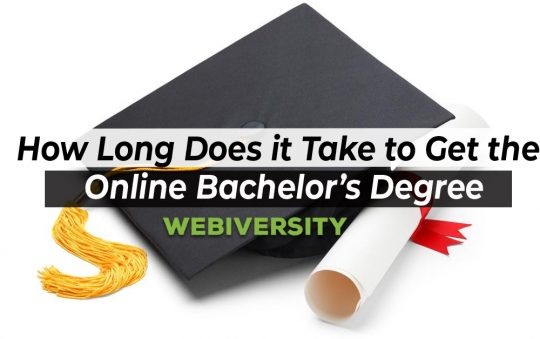 How Long Does it Take to Get the Online Bachelor's Degree
