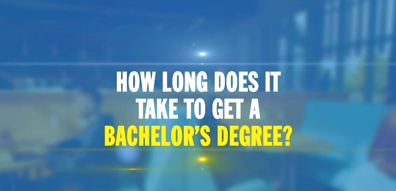 How long does it take to get a bachelor's degree online