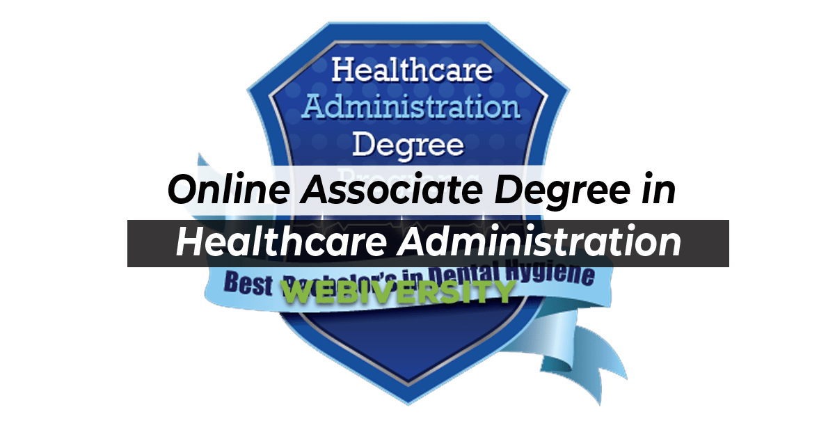 Online Associate Degree in Healthcare Administration