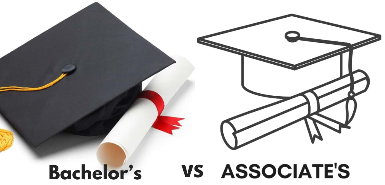What is the difference between a bachelor's degree and an associate degree