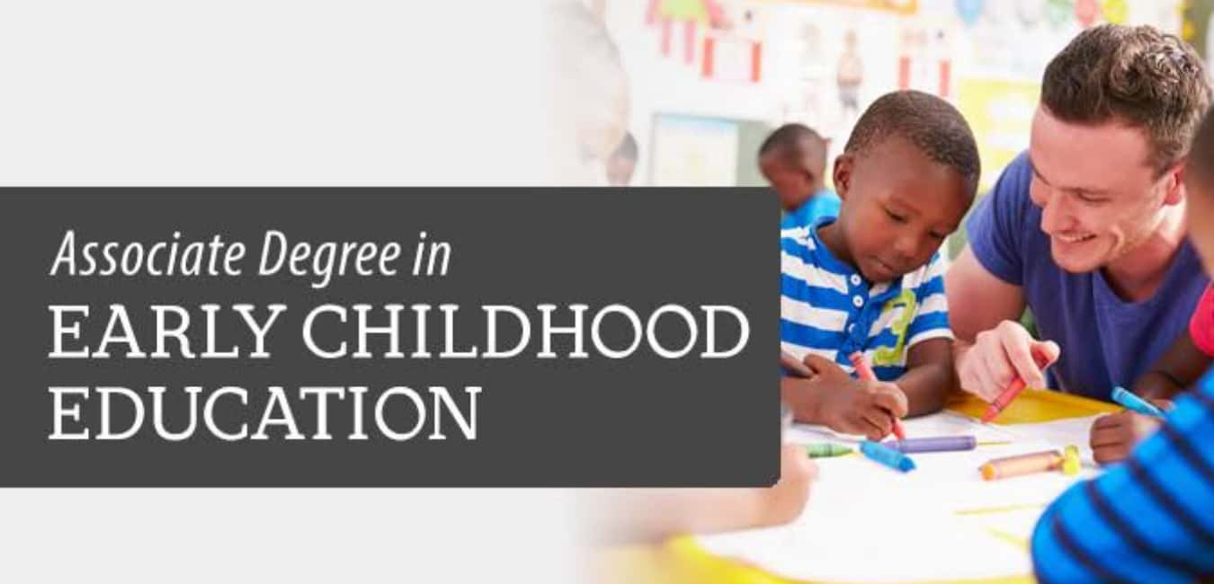 What can I do with an associate degree in early education